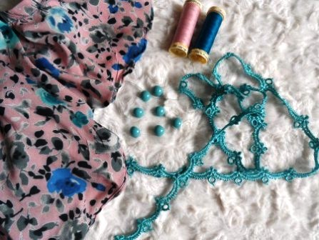 Fabric and Notions used
