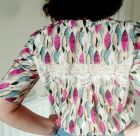 Camas Blouse with Scrap Lace